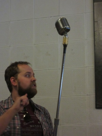 This is the original microphone all the stars recorded their music.