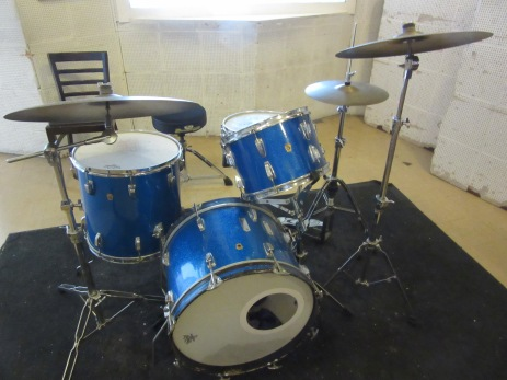 Original drum set of U2