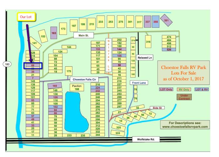 RV Lot Map